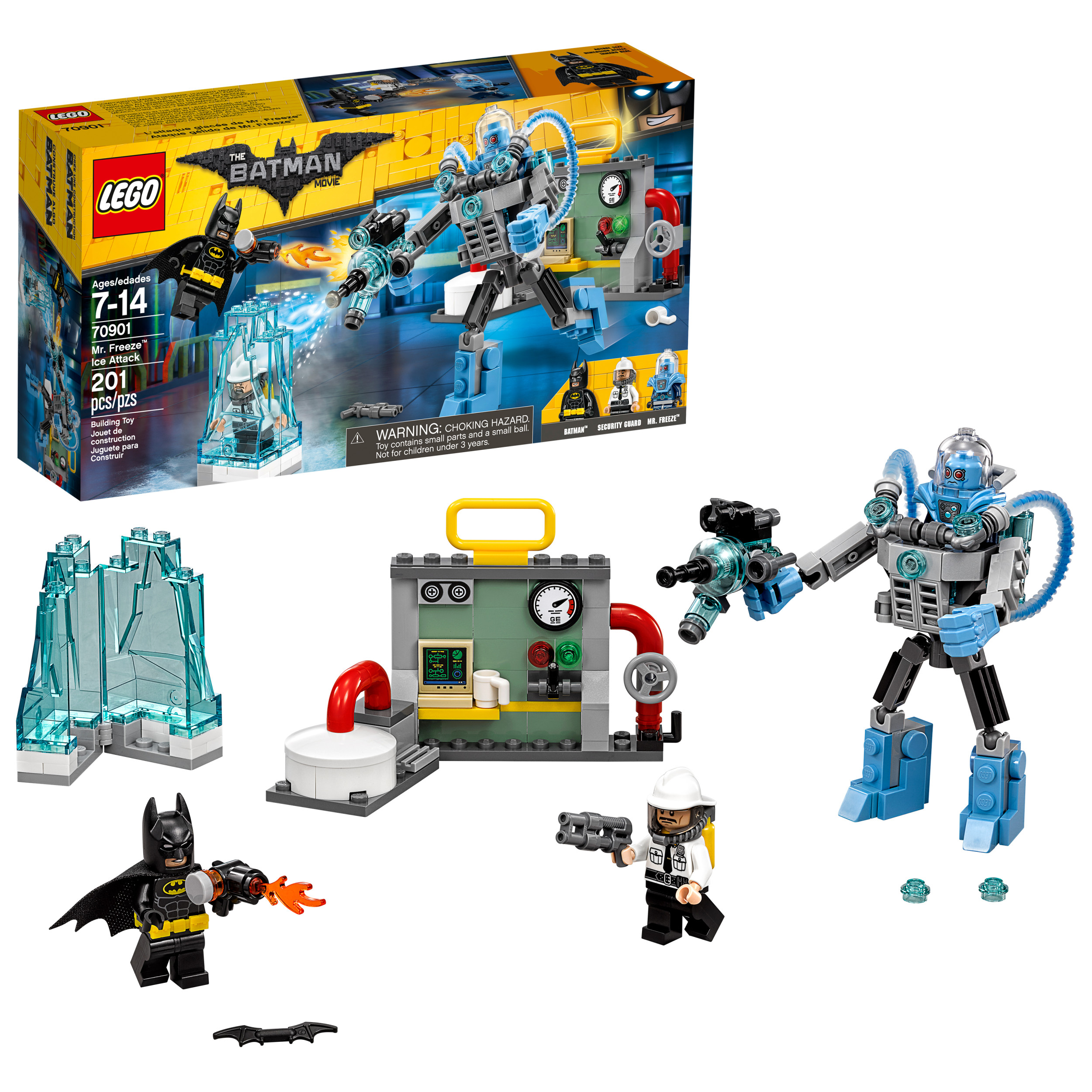 The LEGO Batman Movie - Mr. Freeze Ice Attack (70901) - Walmart.com