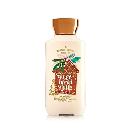 Bath and Body Works Gingerbread Latte Body Lotion 8 ounce Full (Gingerbread Latte Bath And Body Works 2017)