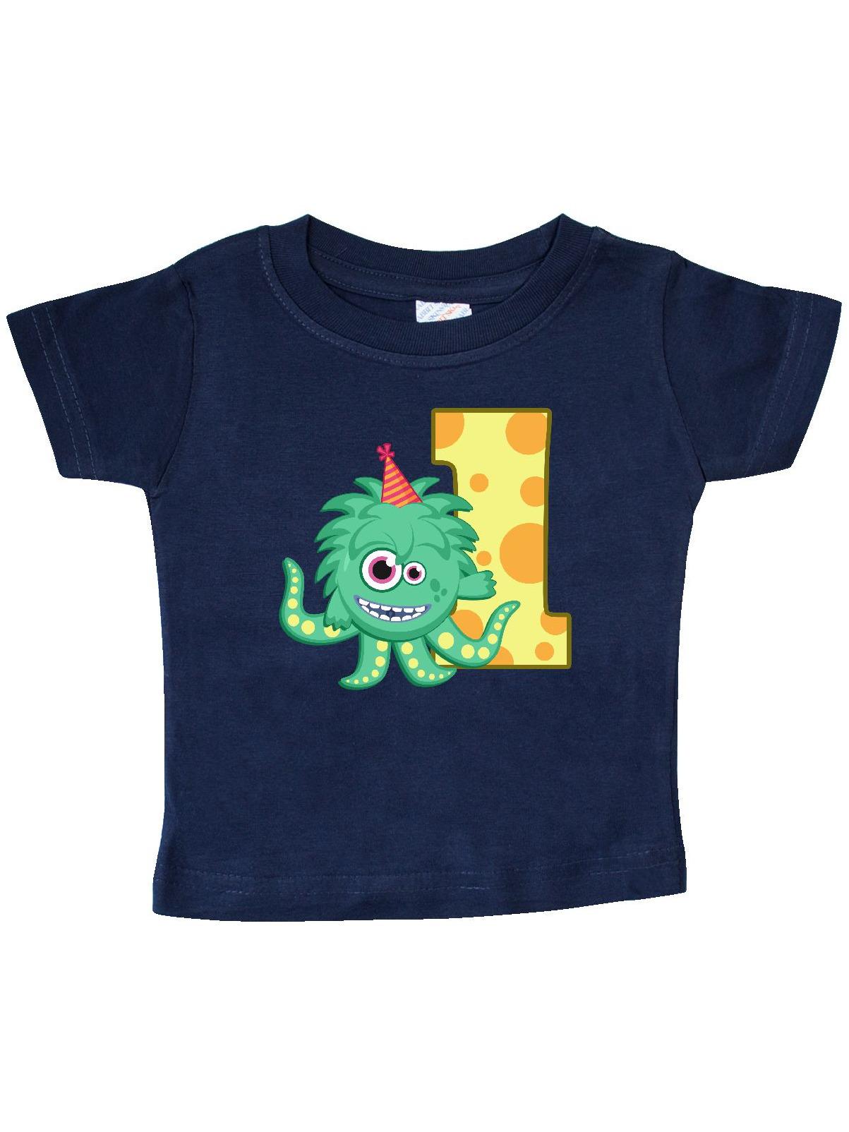 Monster 1st Birthday Baby T-Shirt