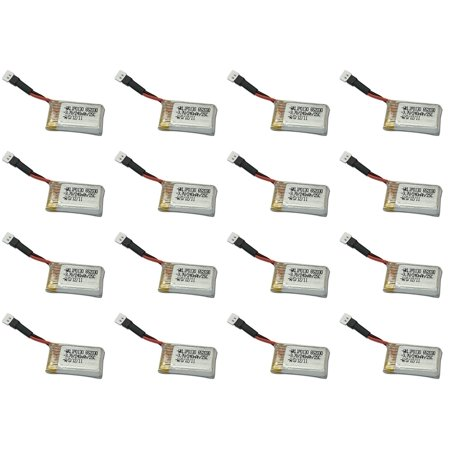 16 X Quantity Of Jjrc 1000A 3 7V 240Mah Lipo Battery Rechargeable Power Pack   Fast From Orlando  Florida Usa