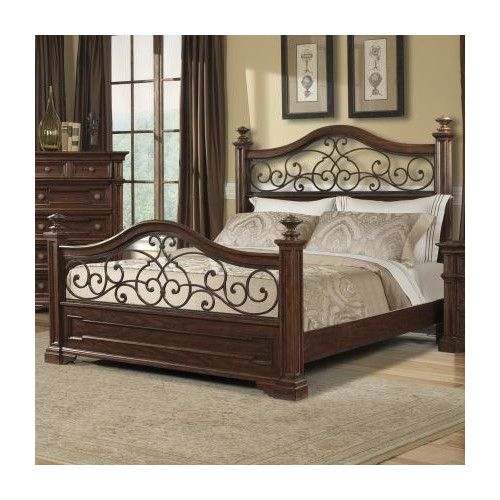 Klaussner Furniture Harris Platform Bed