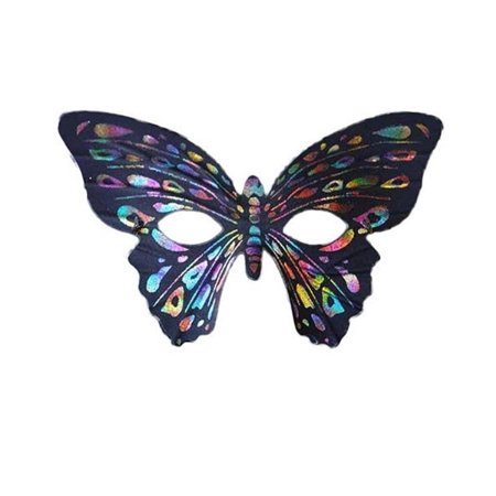 Rainbow Butterfly Party Mask](Butterfly Masks)