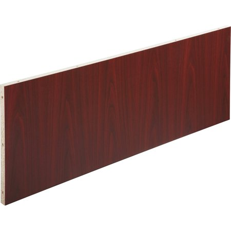 Lorell, LLR69936, Modular Mahogany Conference Table Modesty Panel, 1 Each,