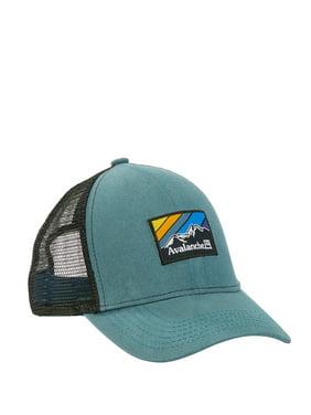 Men's Woven Label Patch EMB Edge Uncle Trucker Hat