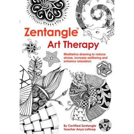 Zentangle Art Therapy - Halloween Art Therapy Activities
