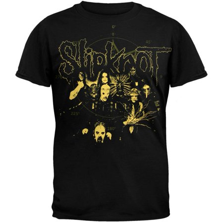 Slipknot - Yellow Duotone T-Shirt](Slipknot Suits)
