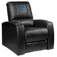 40 x 48 x 55 in. St. Louis Blues NHL Relax Recliner - Black