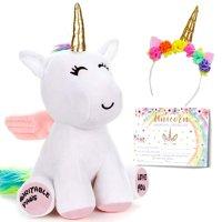 GRIFIL ZERO Unicorn Gift Set Stuffed Animal Plush Toy Set