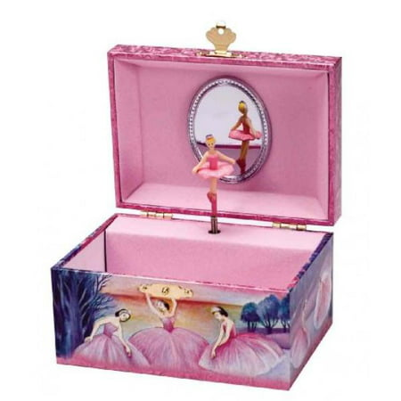 Schylling Iridescent Ballerina Jewelry Box - Little Girls Jewelry Boxes