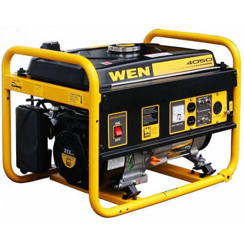 WEN 4050W 212cc 7 HP Gas Powered Portable Generator