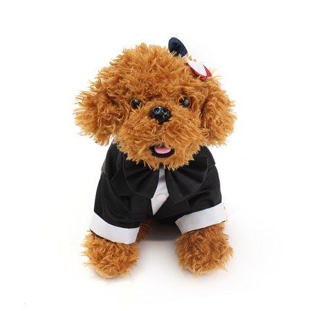 Prince Wedding Suit Pet Dog Cat Clothing Tuxedo Bow Tie Puppy ...