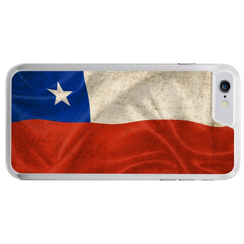 Chile Chilean Flag Apple iPhone 7 (4.7 inch) Phone Case by Mad Marble