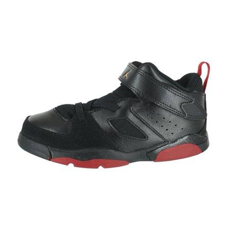 sports shoes 627a3 f56e9 Jordan 555330-067: Toddler Flight Club 91 Black Dandelion Varsity Red  Sneakers (7 M US Toddler)