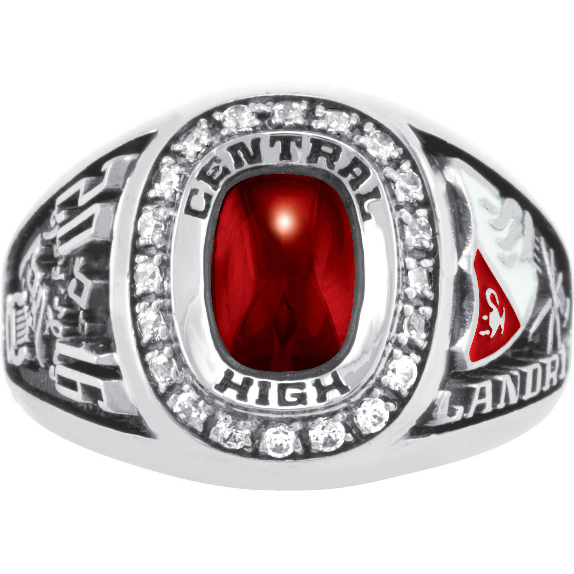 Keepsake Girls' USA Premiere Class Ring