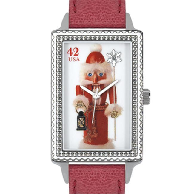 Arjang & Co HY-4020S-RD Nutcracker Santa Oversized Rectangular