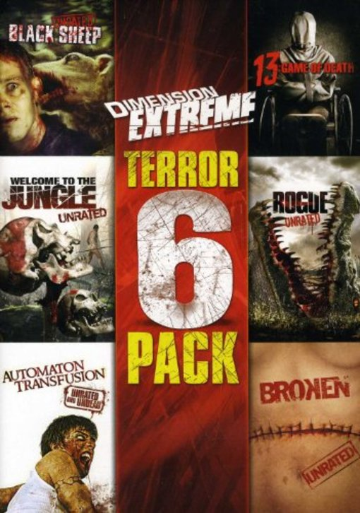 Dimension Extreme 6-Film Collection (Black Sheep, Automaton, Broken, Rogue, Welcome to the Jungle, 13) by WEINSTEIN CO