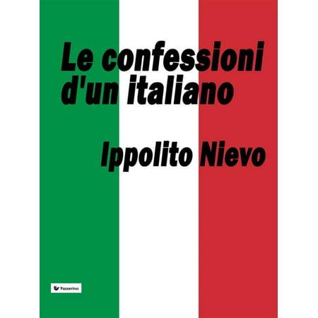Le confessioni d'un italiano - eBook](Film Halloween Italiano)