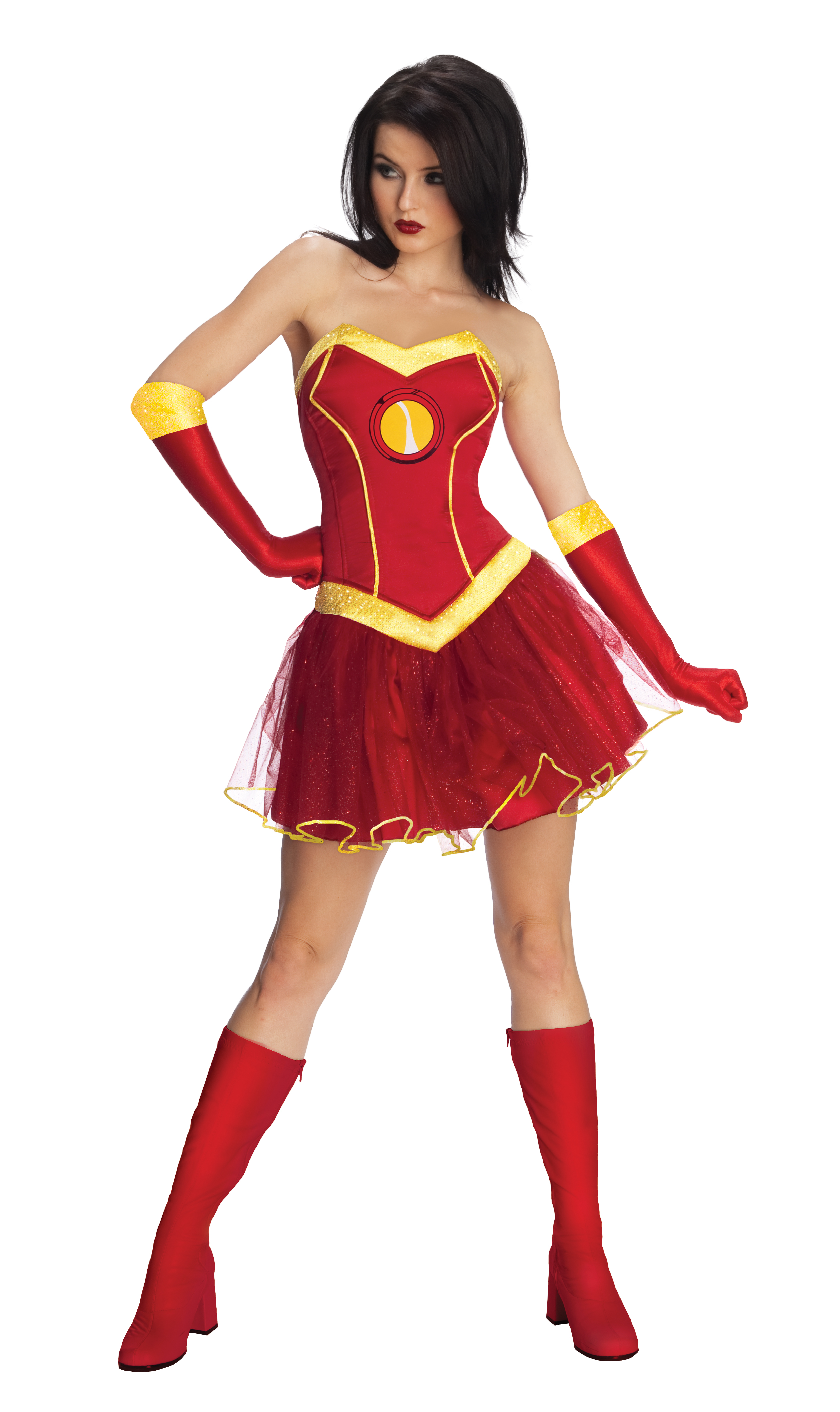 sc 1 st  Walmart & Adult Female Iron Man Rescue Costume by Rubies 820013 - Walmart.com
