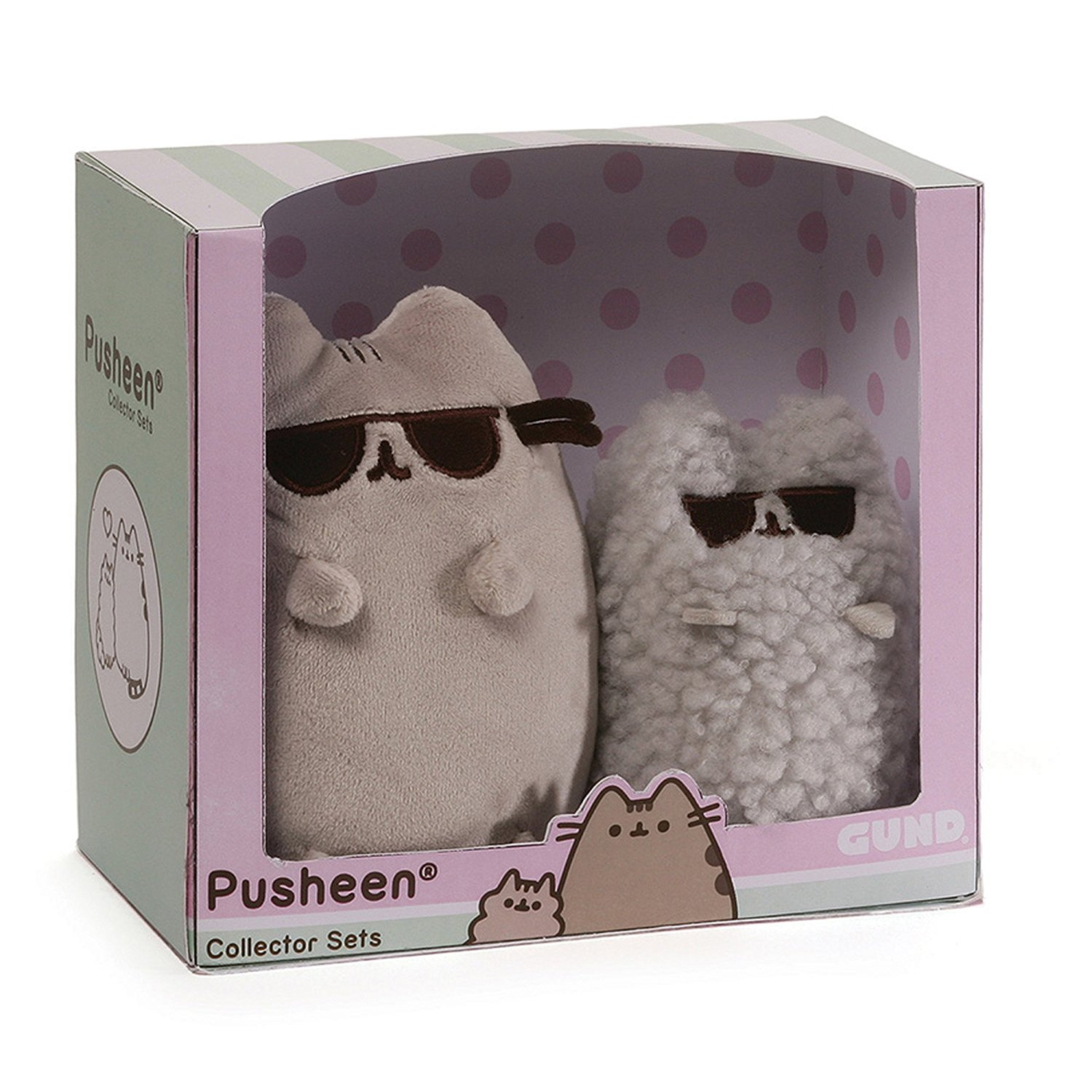 GUND Cool Sunglasses Pusheen and Stormy Collector Set Series 1