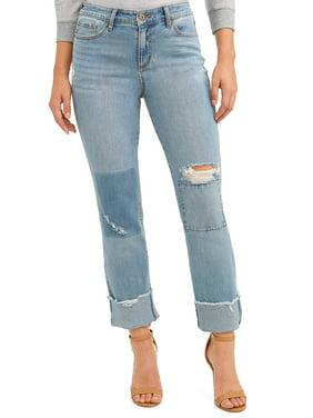 6ebb6dd83a59 Sofia Jeans Veronica Destructed Cuffed Straight Leg High Waist Jean Women's