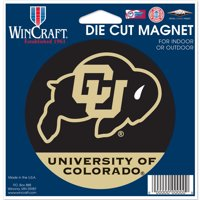 "Colorado Buffaloes WinCraft 5"" Die-Cut Car Magnet - No Size"