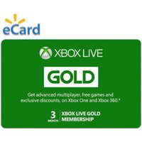 Deals on Microsoft Xbox Live 6 Month Gold Membership
