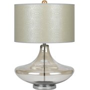 AF Lighting 8900 Glass Table Lamp in Smoke