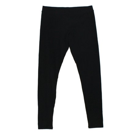 Nordstrom New Deep Black Womens Size Medium M Stretch Legging Pants