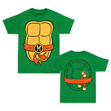 Teenage Mutant Ninja Turtles TMNT Michelangelo Suit - Ninja Turtle Shirts For Halloween