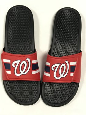 39513aba756 Product Image WASHINGTON NATIONALS NEW LEGACY SLIDES MENS MED 9-10