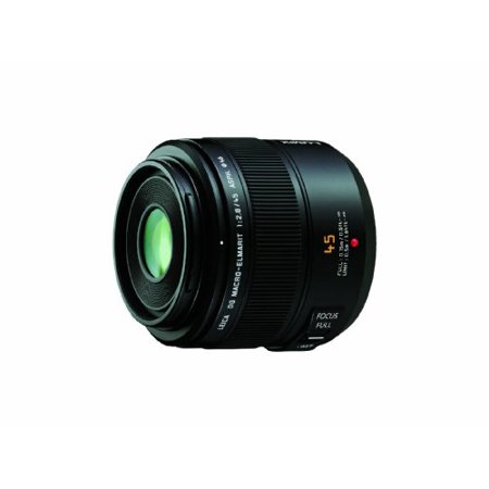 Panasonic Leica DG Macro-Elmarit 45mm/F2.8 ASPH Lens with MEGA OIS for Micro Four Thirds Interchangeable Lens (Best Interchangeable Lens Camera)