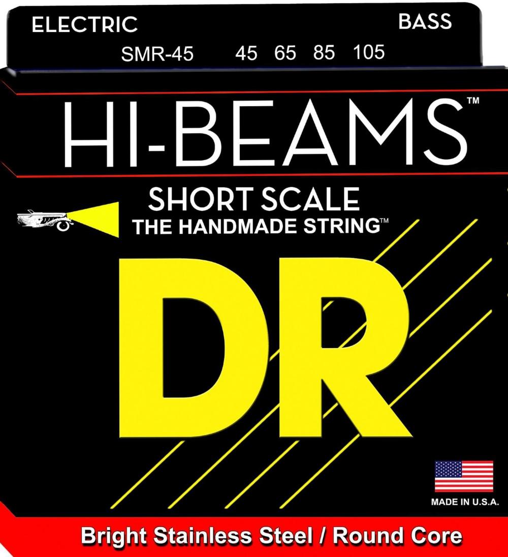 DR Strings HI BEAMS Short Scale 4 String Bass Medium (45-105) by DR Strings