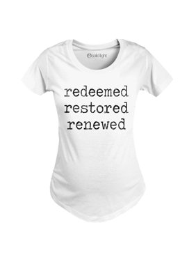 Redeemed Restored Renewed-MATERNITY Scoop Neck Tee