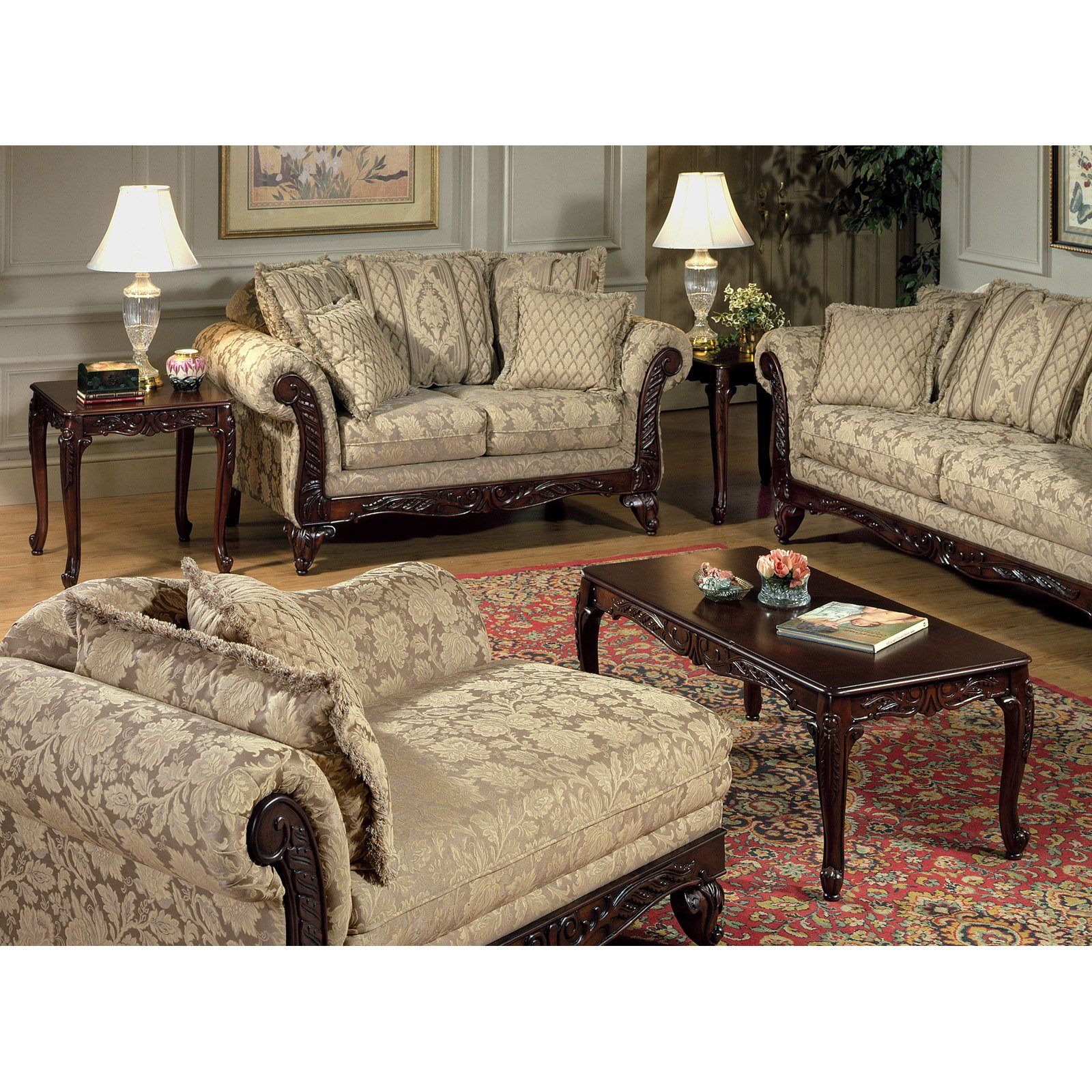 Chelsea home king henry rectangle coffee table set walmart geotapseo Gallery