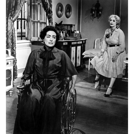 What Ever Happened To Baby Jane Joan Crawford Bette Davis 1962 Photo Print (Cindy Crawford Photos)