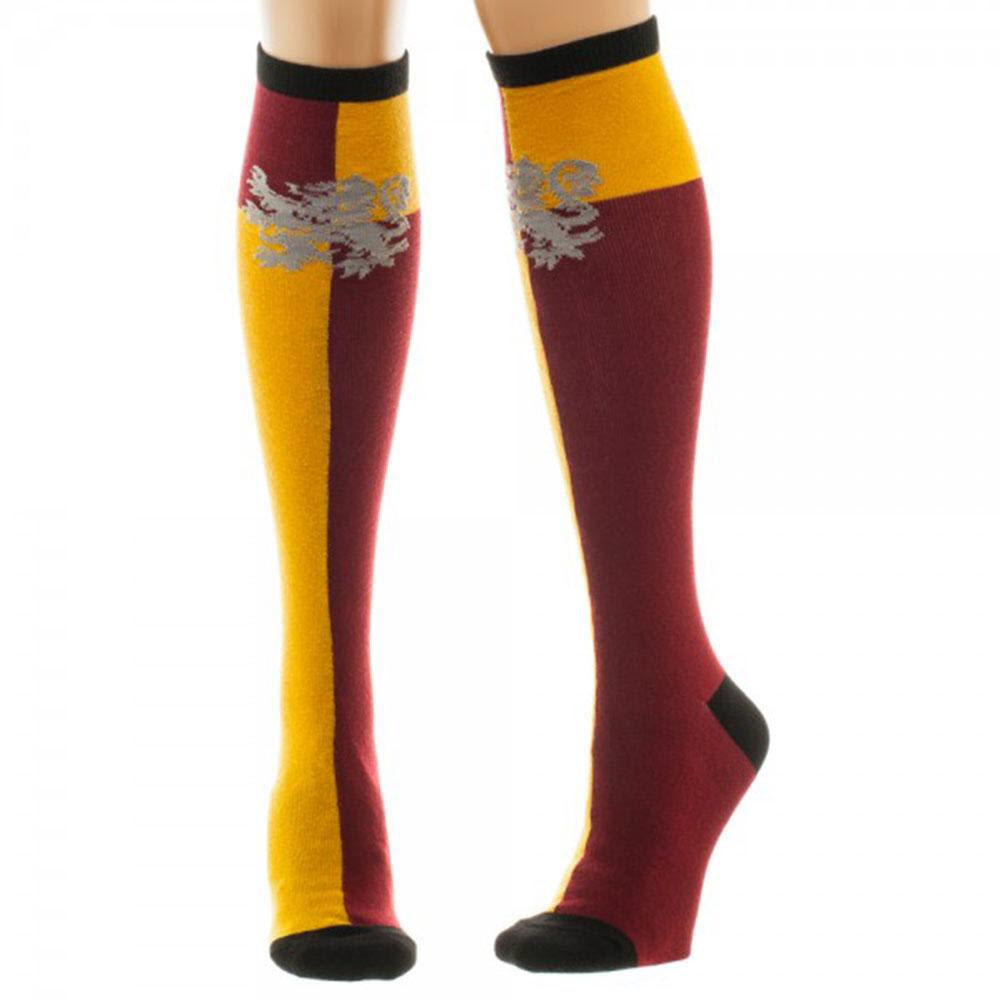 Gryffindor Knee High Socks Costume Halloween Movie Series