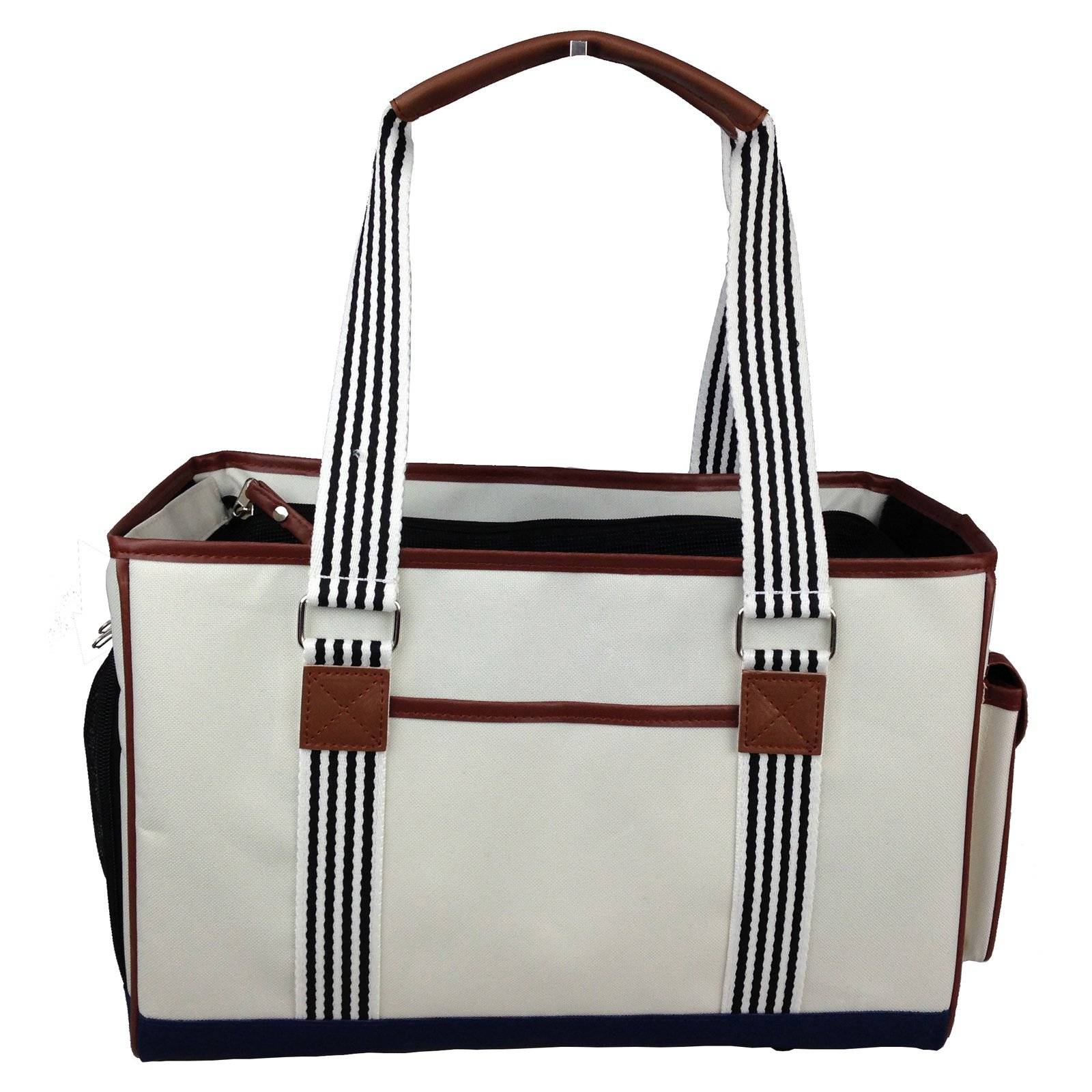 Pet Life Fashion Yacht Polo Pet Carrier by Pet Life