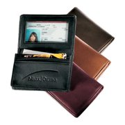 Andrew Philips AP1520FN Deluxe Gusseted Business Card Case