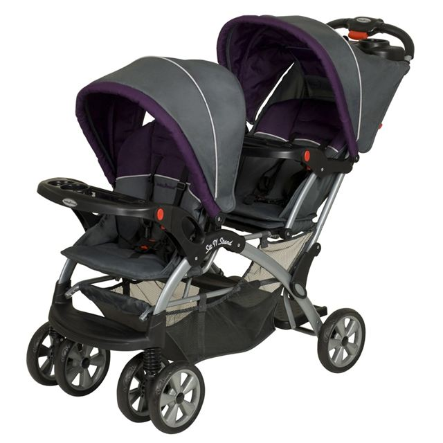 Baby Trend Sit N' Stand Ultra Double Stroller, Elixer
