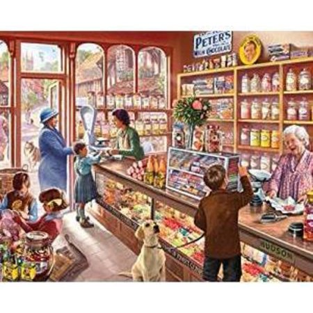 Halloween Jigsaw Puzzles For Adults (White Mountain Puzzles Old Candy Shop - 1000 Piece Jigsaw)