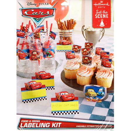 Cars 'Grand Prix Dream Party' Food and Drink Labeling Kit (25pc) Cars 'Grand Prix Dream Party' Food and Drink Labeling Kit (25pc)