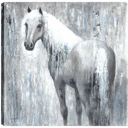 Art Maison Canada Unbana025onl Horse Love V Animal Fresh Printed Canvas Wall Image 1