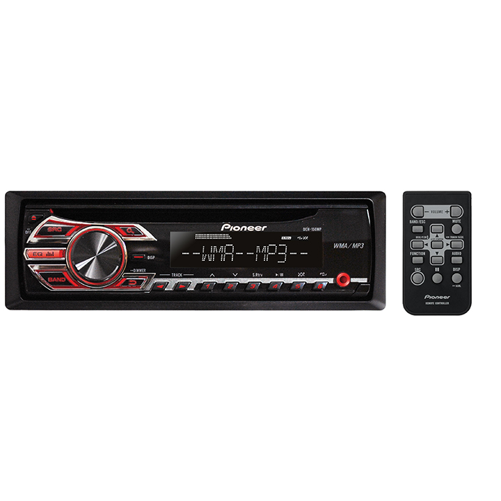 pioneer deh 150mp single din in dash cd receiver with mp3 playback rh walmart com
