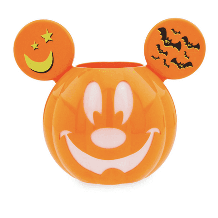 Disney Halloween Mickey Mouse Trick-or-Treat Candy Bowl New with (Disney's Halloween Treat)