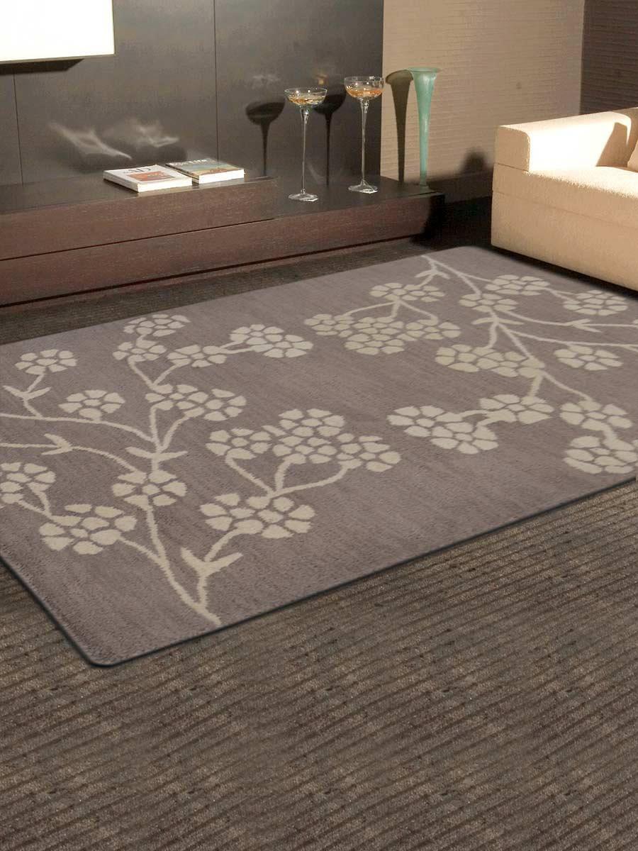 Rugsotic Carpets Hand Tufted Wool 6 X9 Area Rug Floral Beige White K00513 Walmart Com Walmart Com
