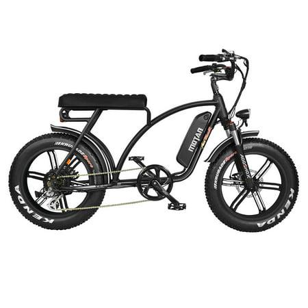 Addmotor MOTAN M-60 L7(R7) 750 Watt Electric Beach Cruiser Bicycle Mini (Best Mini Bike For Adults)