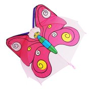 3D Pop-Up Purple/Pink Butterfly Cute Umbrella
