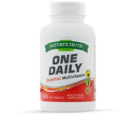 Natures Truth One Daily Multivitamin VALUE SIZE 365 Count (Best Value Multivitamin Uk)