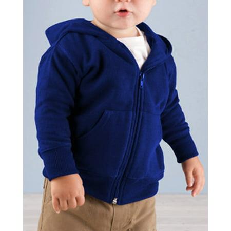 Rabbit Skins Infant Zip Fleece Hoodie 3446 ()