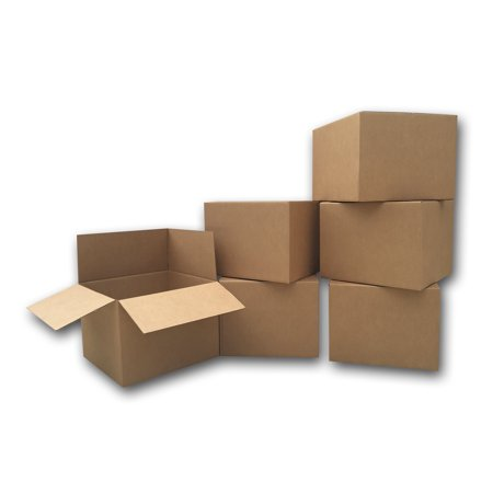Uboxes Large Moving Boxes, 20x20x15in, 6 Pack, Cardboard - Cardboard Ballot Box